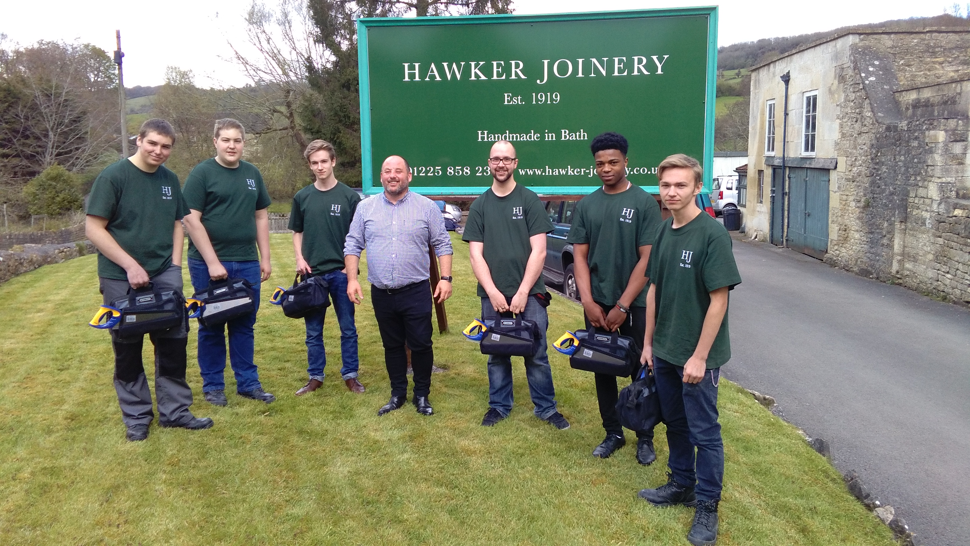 Hawker Joinery Apprentices