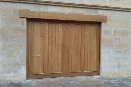 french-oak-garage-doors-bath