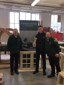 Hawker Joinery Bath Life Award winners